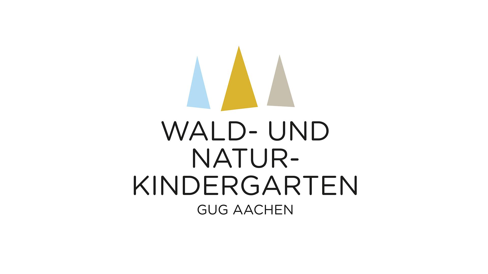 Wald- und Naturkindergarten Aachen, Logodesign Träger