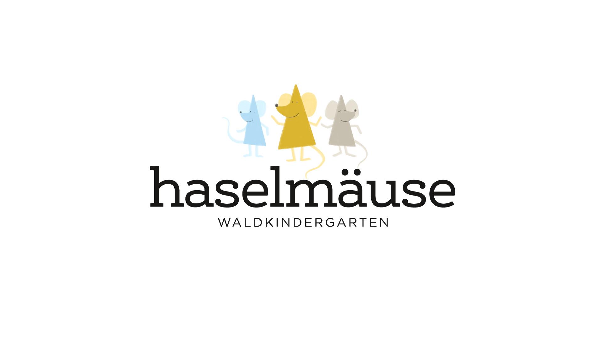 Wald- und Naturkindergarten Aachen, Die Haselmäuse, Logodesign