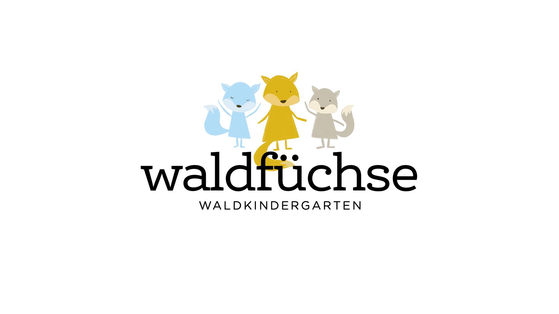Wald- und Naturkindergarten Aachen, Logodesign für die Kindergartengruppe